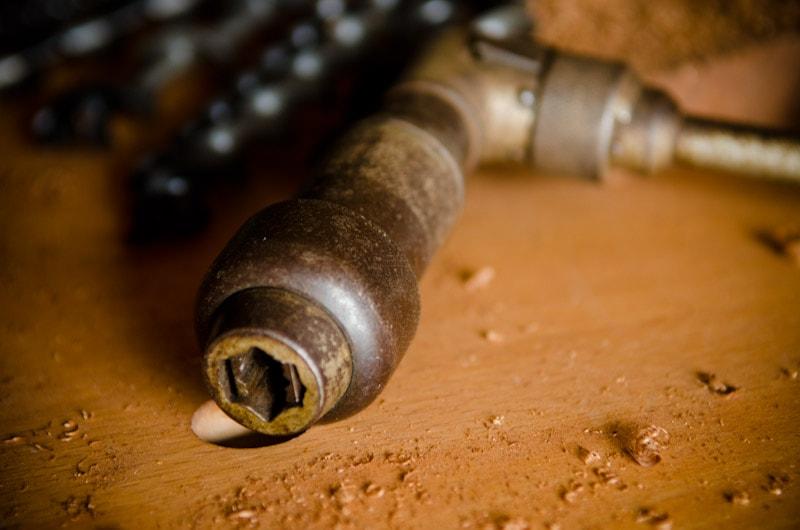 Hand brace drill
