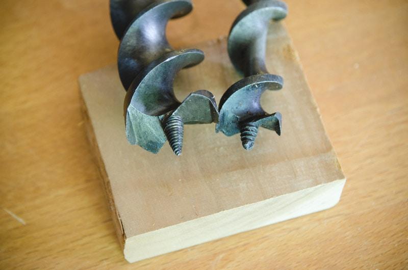 sharpen auger bits
