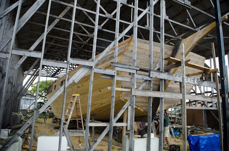 Wooden Boat builder