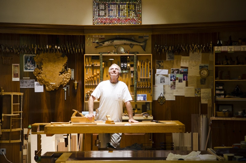 Frank Klausz Workshop Tour | Wood and Shop