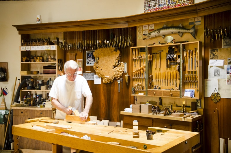 Frank Klausz Workshop Tour Wood And Shop