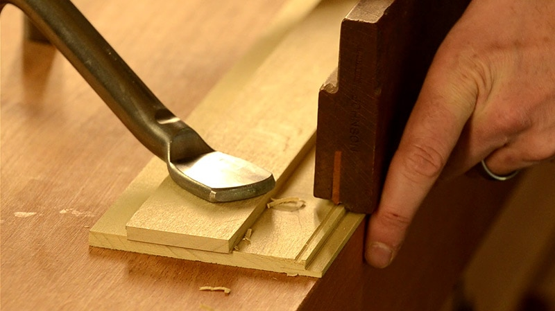 How To Cut A Decorative Bead With A Beading Plane Wood