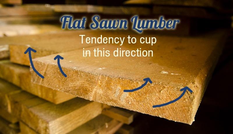 flat-sawn-lumber-cupping