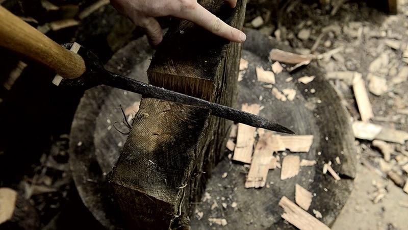 riven-wood-froe-mallet