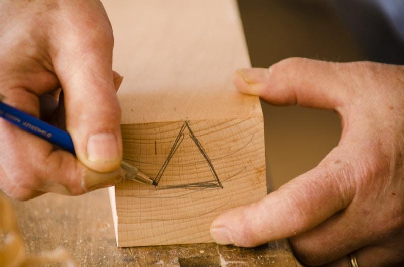 Bill Anderson carpenter triangle marking