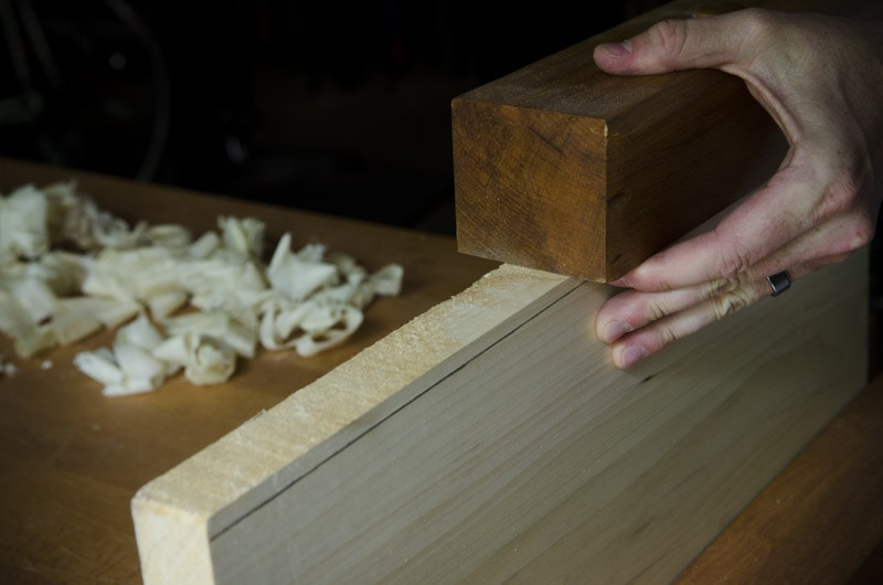 use a Wooden Jointer Plane {Part 2: Flatten a Panel} | Wood and Shop