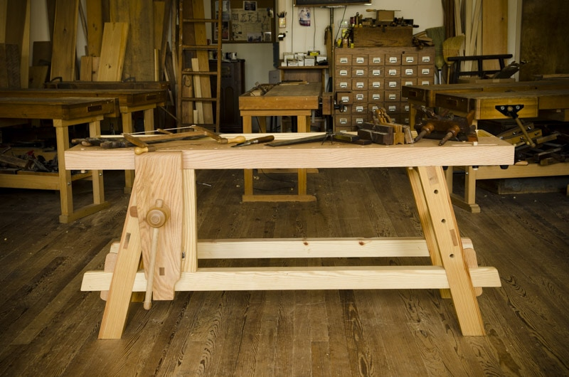 ... Portable Moravian Workbench at The Woodwright's School | Wood and Shop