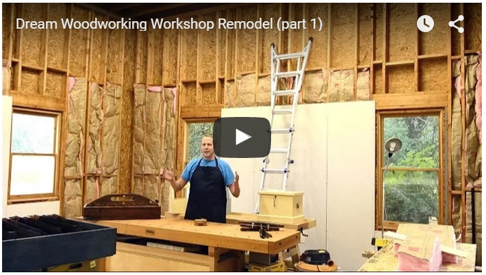 My Dream Woodworking Workshop (part 1)