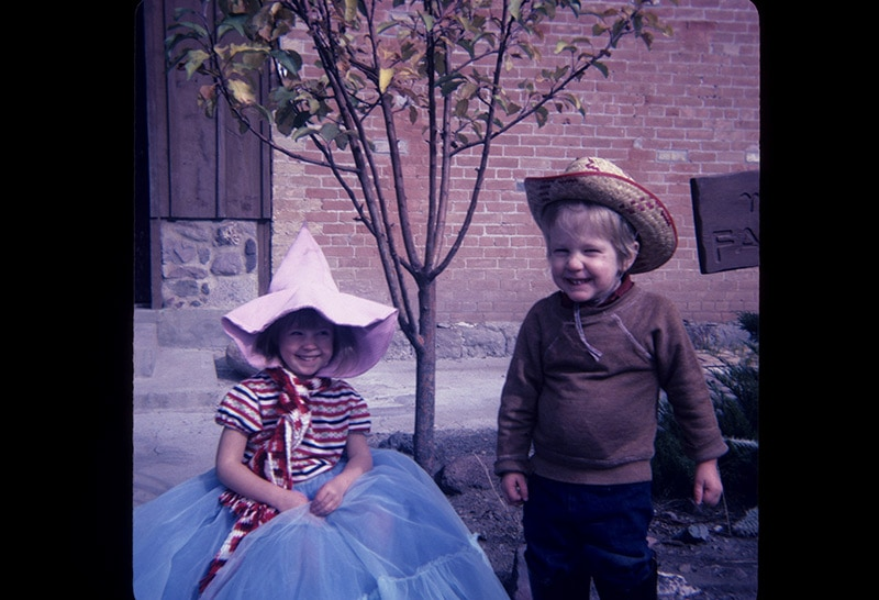 Joshua-&-Tara-dressed-up-1982