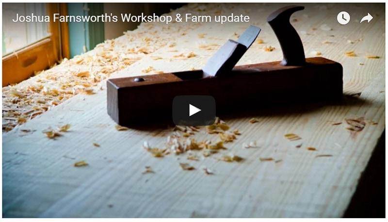 Joshua's Workshop and Farm Update