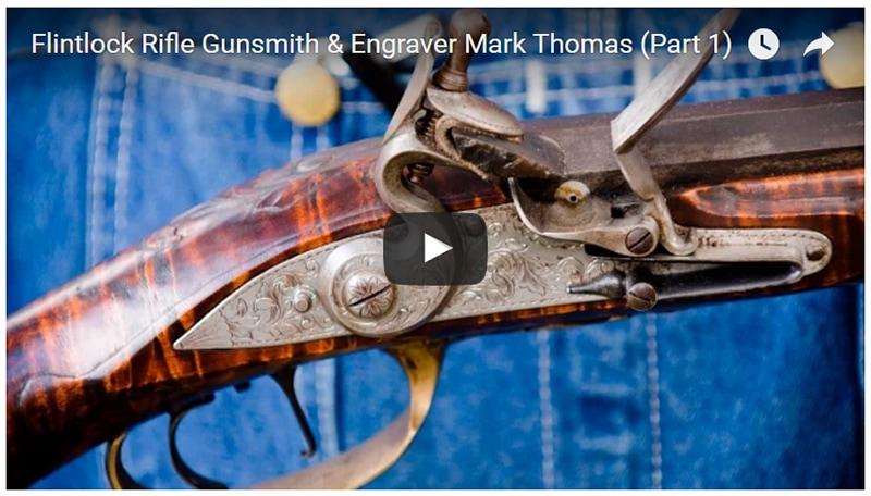 Flintlock Rifle Gunsmith & Engraver: Mark Thomas
