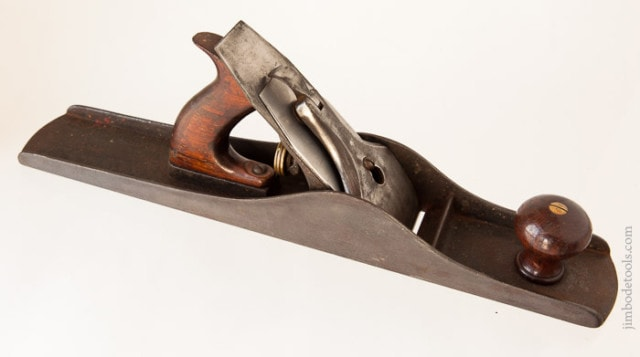 Stanley Plane Identification Showing A Stanley Bailey Type 1 Hand Plane (1867-1869)