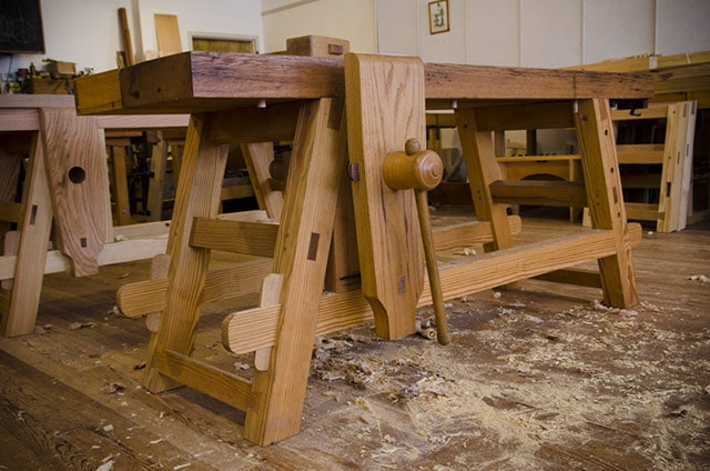 Free Workbench Plans For The Moravian Workbench Wood And