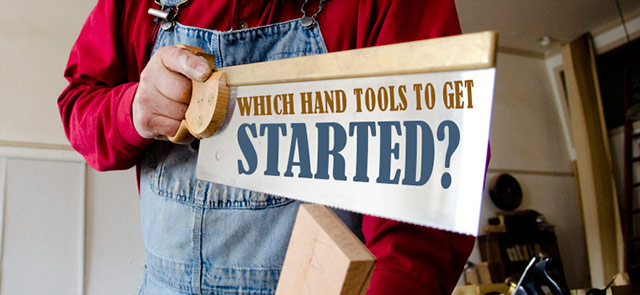 Which hand tools to get started in hand tool woodworking on brass backsaw