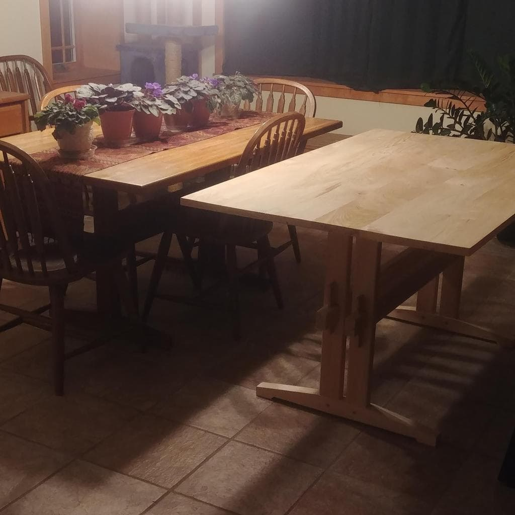 Collapsible Trestle Table