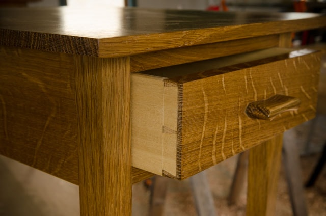 Anatomy Of An End Table And Drawer Wood And Shop - How to build an end table