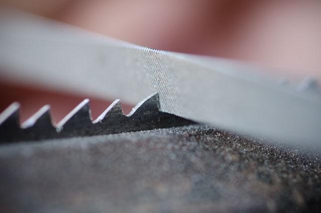 Sharpening Hand Saw Teeth With A Triangular Saw File