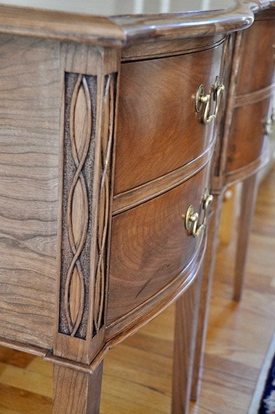 Federal Serpentine Sideboard Table build by james huggett