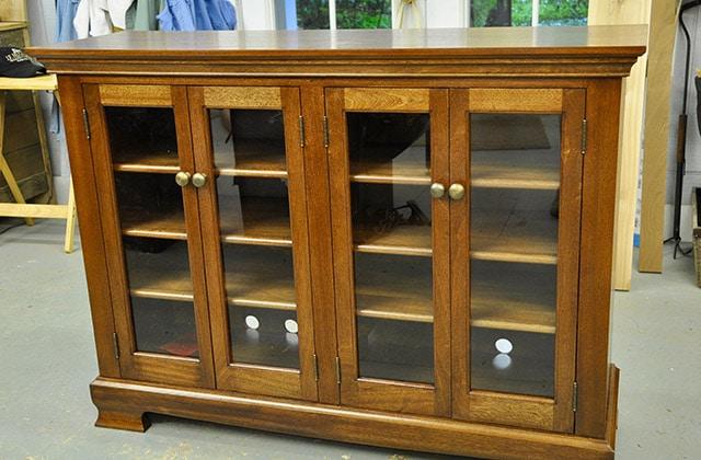 Furniture cabinet built by james huggett