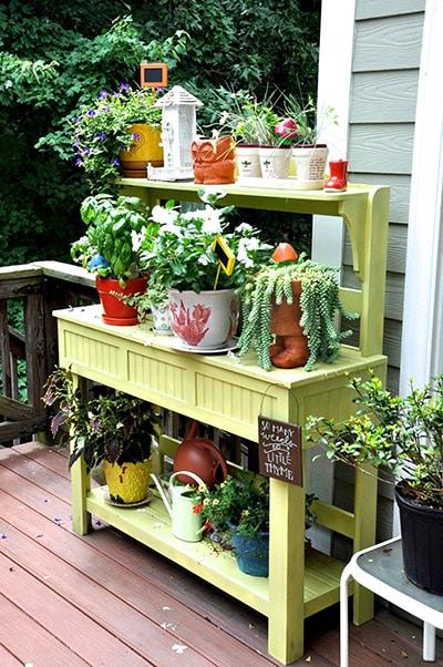 Planter cabinet built by james huggett
