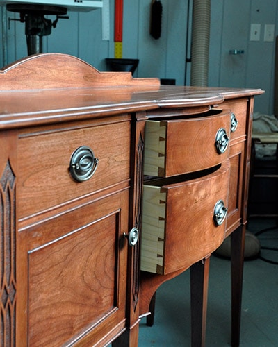 sideboard buffet built by james huggett
