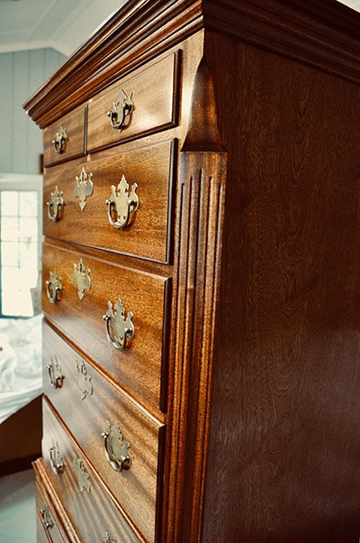 Highboy built by james huggett