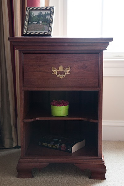 End table built by james huggett