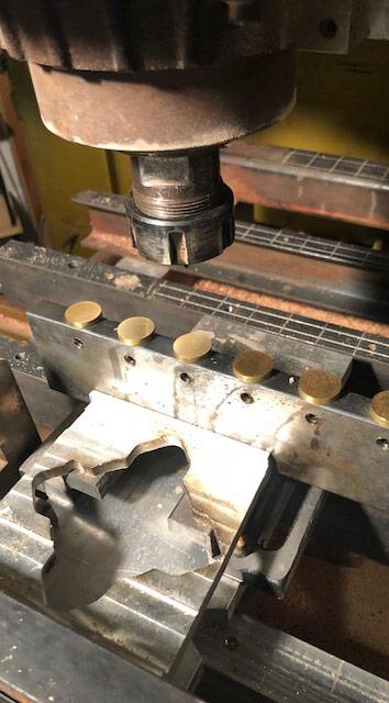Erik Florip Toolworks Woodworking Hand Tools metal punch machine