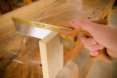 Erik Florip Toolworks Woodworking dovetail saw