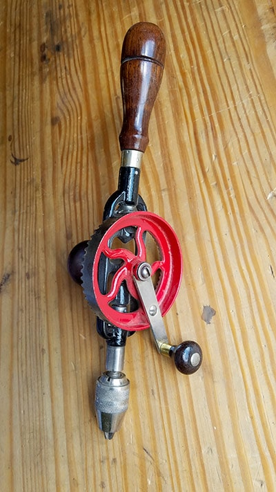 Millers Falls No. 5 Egg Beater Antique Hand Drill