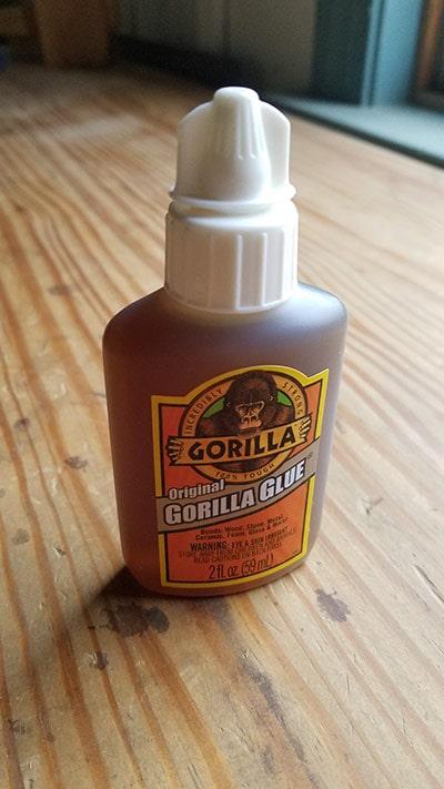 Gorilla glue 2 oz bottle polyurethane glue