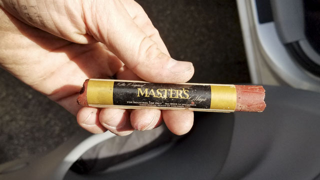 Master's Magic Wax Stick for furniture gap filling and repair