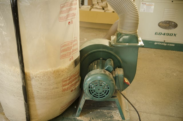Grizzly G1028Z2 1-1/2 HP Dust Collector motor