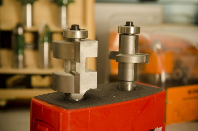 Whiteside 3373 tongue and groove router bit set