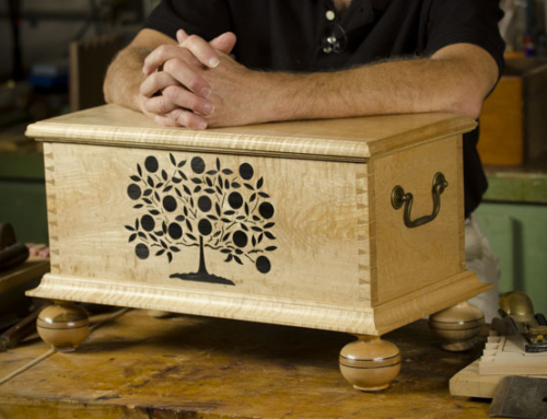 Amazing Tree of Life Chests made by William Brown