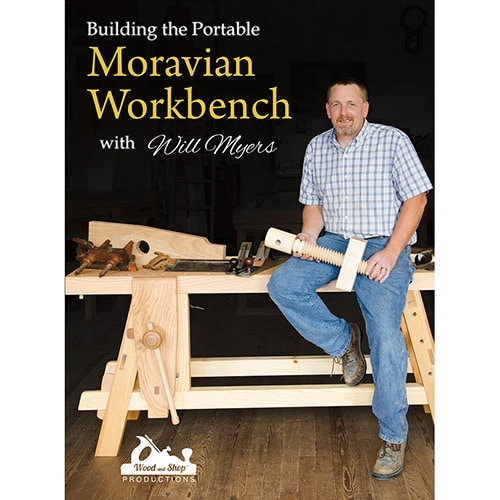 "DVD cover for ""Building the Portable Moravian Workbench with Will Myers"""