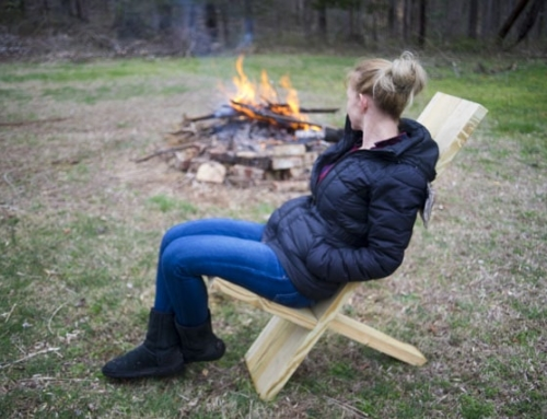 Making a Collapsible Viking Camp Chair