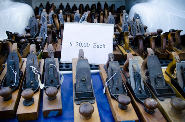 Truck load of antique Stanley transition hand planes