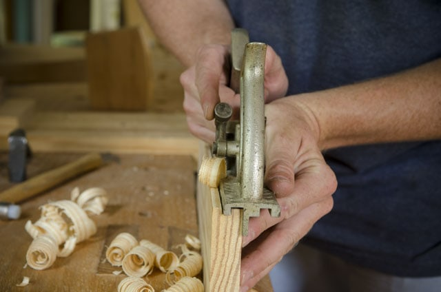 Stanley 148 Come And Go Tongue &Amp; Groove Plane Cutting A Groove