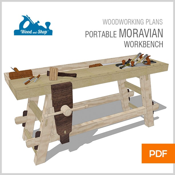 Portable Moravian Workbench Plans For Sale