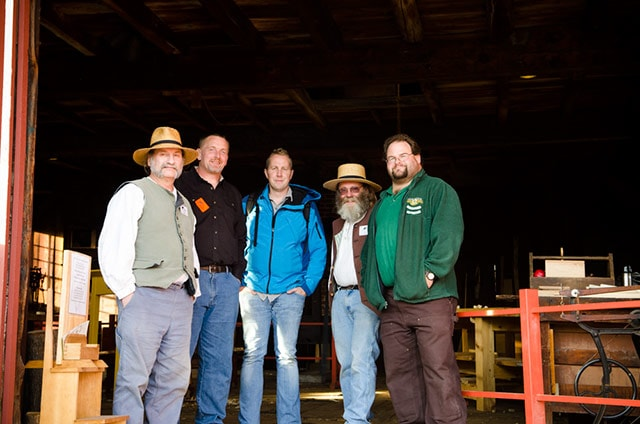 Joshua Farnsworth, Will Myers, And Other Woodworkers At Hancock Shaker Village